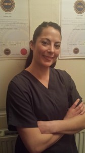 Amanda Bell - member of my Massage therapy team